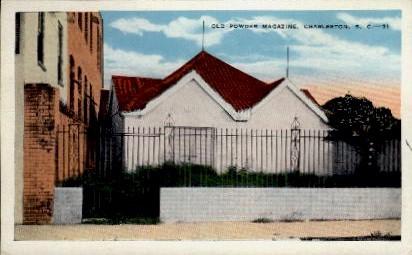 Old Powder Magazine - Charleston, South Carolina SC Postcard
