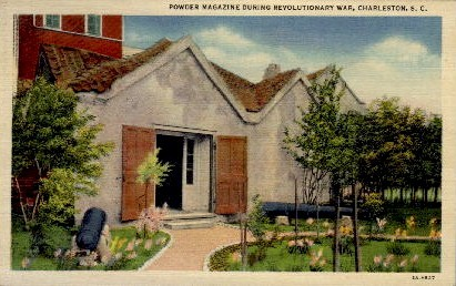 Powder Magazine - Charleston, South Carolina SC Postcard
