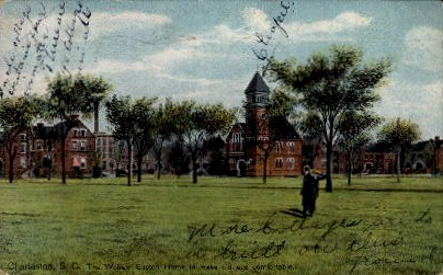 The William Enston Home - Charleston, South Carolina SC Postcard