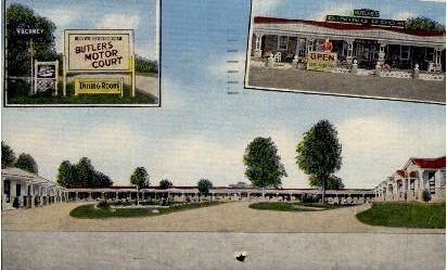 Butler's Motor Court - Charleston, South Carolina SC Postcard