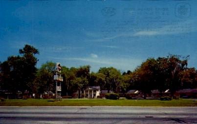 Mount Vernon Motel - Charleston, South Carolina SC Postcard
