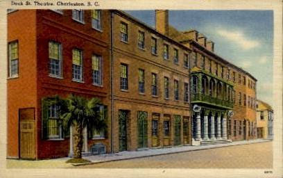 Dock St. Theatre - Charleston, South Carolina SC Postcard