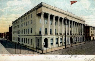 Charleston Hotel - South Carolina SC Postcard
