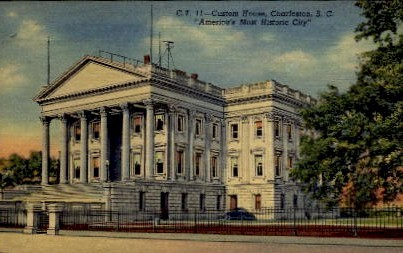 Custom House - Charleston, South Carolina SC Postcard