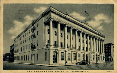 The Charleston Hotel - South Carolina SC Postcard