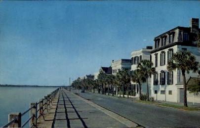 East of High Battery - Charleston, South Carolina SC Postcard