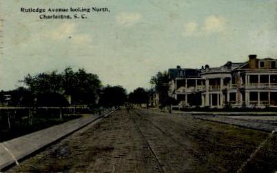 Rutledge Ave. - Charleston, South Carolina SC Postcard