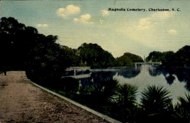 Magnolia Cemetery - Charleston, South Carolina SC Postcard