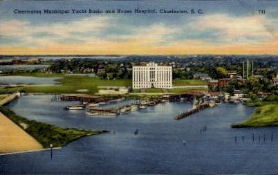 Roper Hospital - Charleston, South Carolina SC Postcard