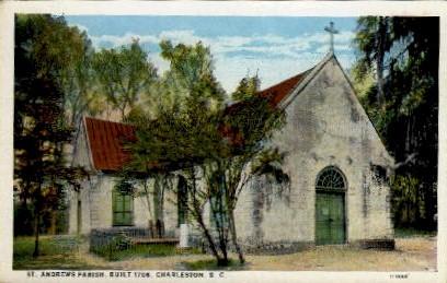 St. Andrew's Parish - Charleston, South Carolina SC Postcard