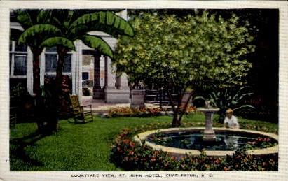 St. John Hotel - Charleston, South Carolina SC Postcard