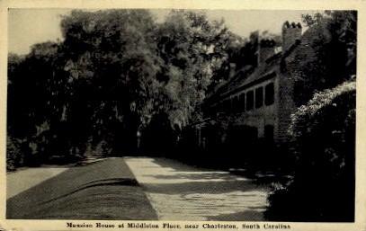 Mansion House at Middleton Place - Charleston, South Carolina SC Postcard
