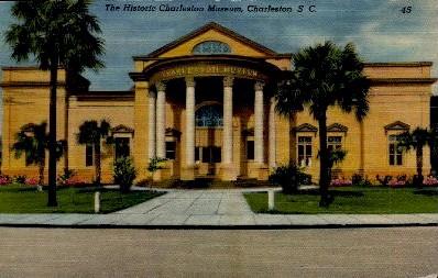 The Historic Charleston Museum - South Carolina SC Postcard