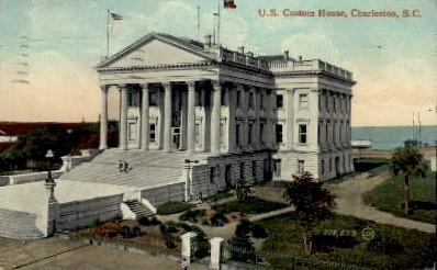 U.S. Custom House - Charleston, South Carolina SC Postcard