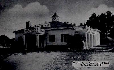Gardens Corner Restaurant  - South Carolina SC Postcard