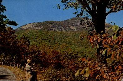 Table Rock Mountain - Greenville, South Carolina SC Postcard