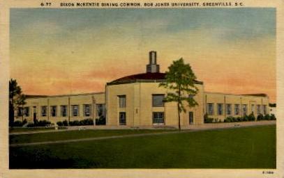 Bob Jones Univerity - Greenville, South Carolina SC Postcard