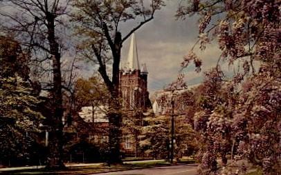 The First Presbyterian Church - Manning, South Carolina SC Postcard
