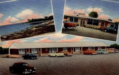 Randolph's Landing Motel & Restaurant - Manning, South Carolina SC Postcard