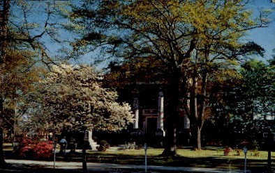 Clarendon County Courthouse - Manning, South Carolina SC Postcard
