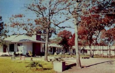 Coral Sands Hotel Court - Myrtle, South Carolina SC Postcard
