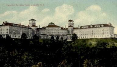 Hampton Terrace - North Augusta, South Carolina SC Postcard