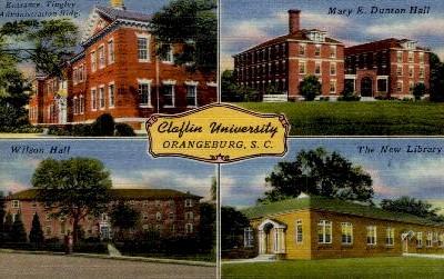 Claflin University - Orangeburg, South Carolina SC Postcard