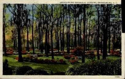 Orangeburg Botanical Gardens - South Carolina SC Postcard