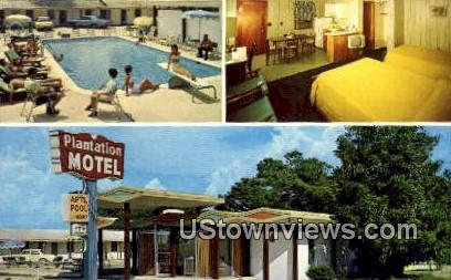 Plantation Motel - Myrtle Beach, South Carolina SC Postcard