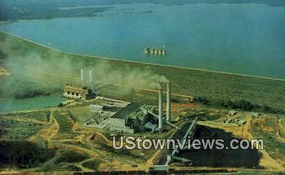 Lake Murray's Saluda Dam - Lexington County, South Carolina SC Postcard