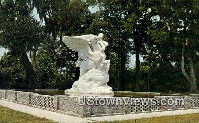 Brookgreen Gardens, SC    ;    Brookgreen Gardens, South Carolina Postcard