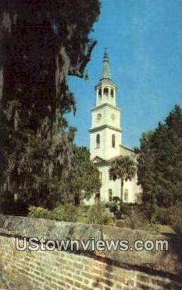 St. Helena Episcopal Church  - Beaufort, South Carolina SC Postcard
