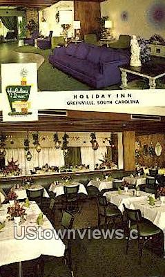 Holiday Inn - Greenville, South Carolina SC Postcard