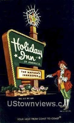 Holiday Inn - Greenwood, South Carolina SC Postcard