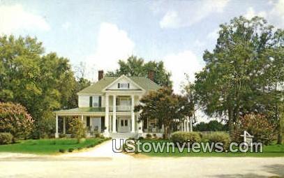 Bellevue Hall - McCormick County, South Carolina SC Postcard