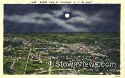 Anderson, South Carolina    ;    Anderson, SC Postcard
