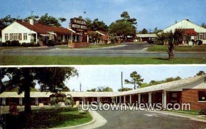 Travelers Motor Hotel - Myrtle Beach, South Carolina SC Postcard