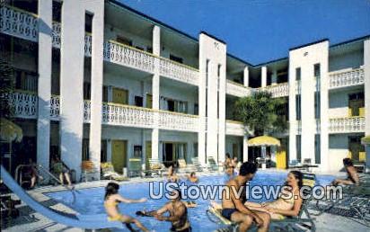 Ebb Tide Motor Inn - Myrtle Beach, South Carolina SC Postcard
