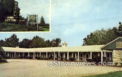 King Cotton Motel - Summerton, South Carolina SC Postcard