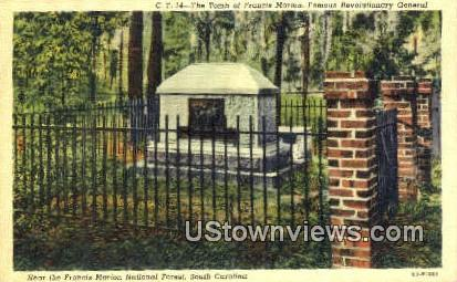 Tomb of Francis Marion, Revolutionary General - Francis Marion National Forest, South Carolina SC Postcard