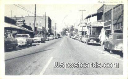Main Street - Cowpens, South Carolina SC Postcard