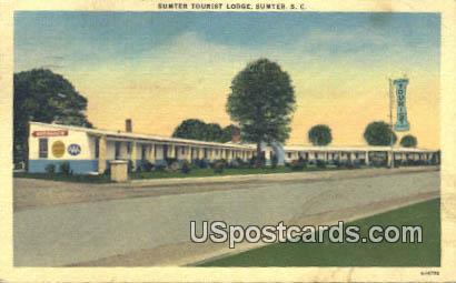 Sumter Tourist Lodge - South Carolina SC Postcard
