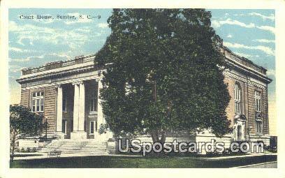 Court House - Sumter, South Carolina SC Postcard