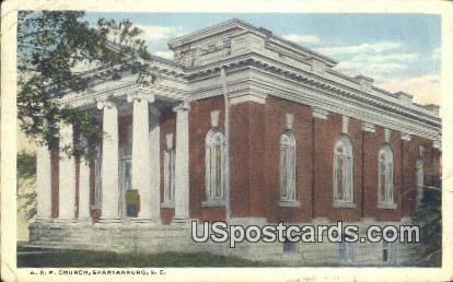 ARP Church - Spartanburg, South Carolina SC Postcard