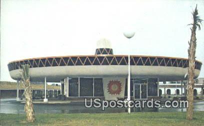 Motel West Center Building - South of the Border, South Carolina SC Postcard