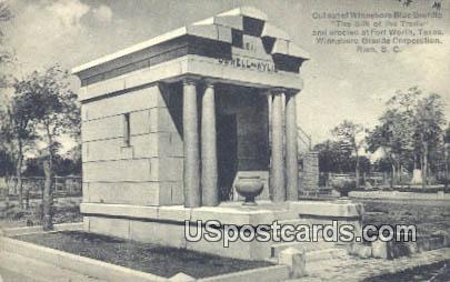 Winnsboro Granite Corporation - Rion, South Carolina SC Postcard