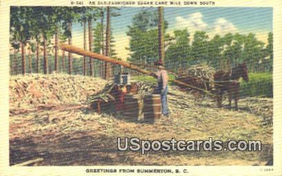 Summerton, SC Postcard     ;     Summerton, South Carolina