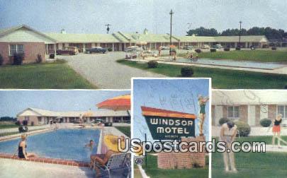 Windsor Motel & Dining Room - Summerton, South Carolina SC Postcard