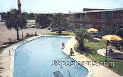 Horne's Motor Lodge & Restaurant - Florence, South Carolina SC Postcard