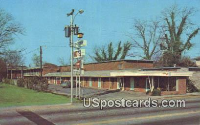 Sexton's Uptown Motel - Florence, South Carolina SC Postcard